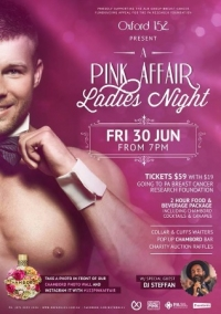 Jun 30 A Pink Affair: Ladies Night for PA Breast Cancer Research Foundation