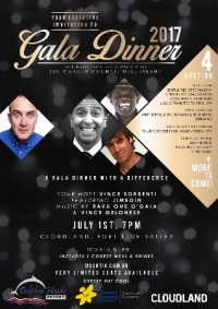 July 1 Brisbane Jimeion Gala Dinner for Cancer Council QLD