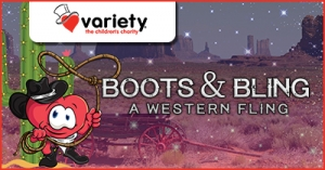 June 16 Variety SA Annual Themed Ball - Boots & Bling: a Western Fling - Adelaide