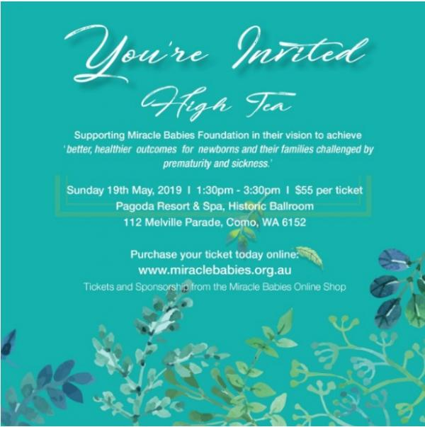 Miracle Babies Foundation High Tea