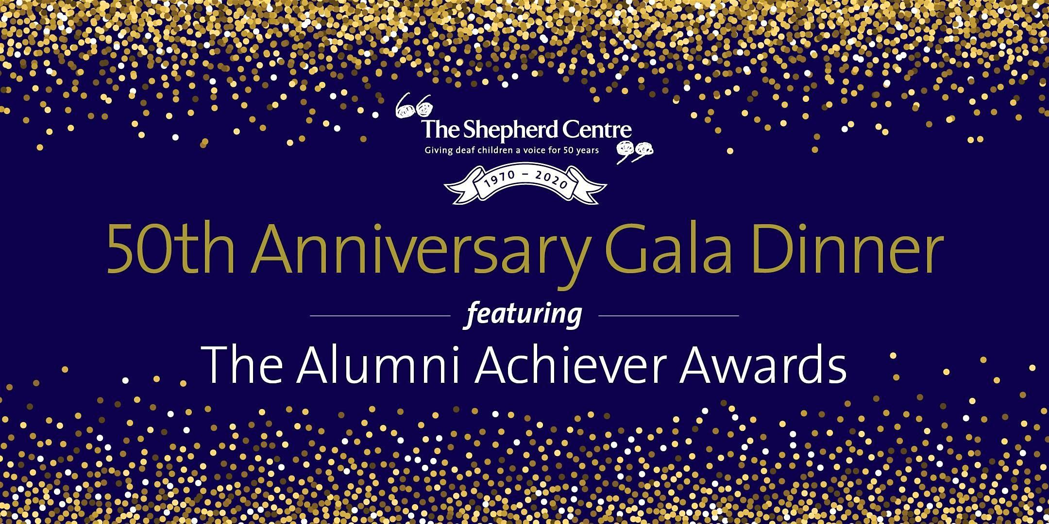 The Shepherd Centre 50th Anniversary Gala Dinner