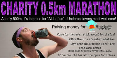 Charity 0 5km Marathon Raising Money For Backpacks 4 Sa Kids In