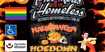 Hot Rods For The Homeless Halloween HoedownGoes Country (Combined Ticket)
