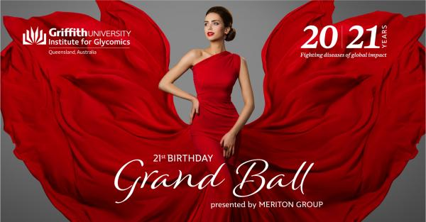 Institute for Glycomics 21st Birthday Grand Ball