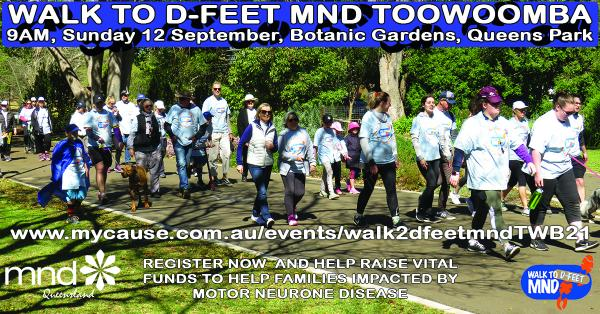 Walk to D:Feet MND Toowoomba
