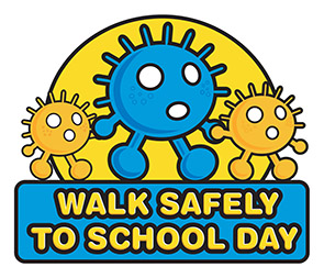 National Walk Safely to School Day 2019