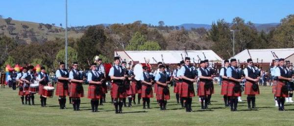 Canberra Burns Club Highland Gathering