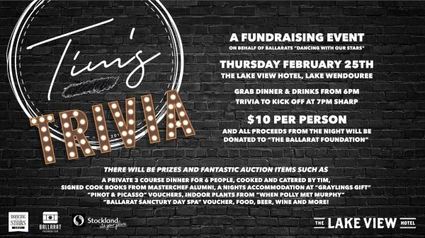 Tims Trivia : A Fundraising Event