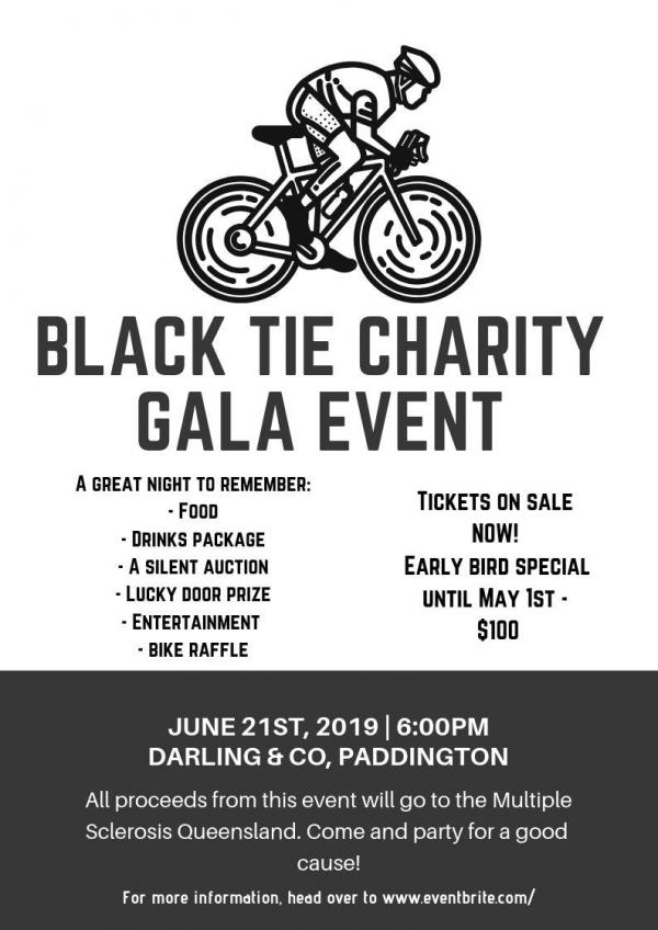 Black Tie Charity Gala Event for MS Qld
