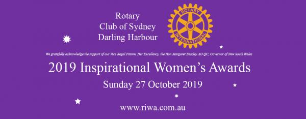 NSW Rotary Inspirational Womens Awards 2019