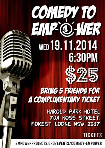 Comedy to Empower
