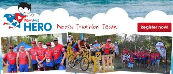 HeartKids Hero Noosa Traithlon Team
