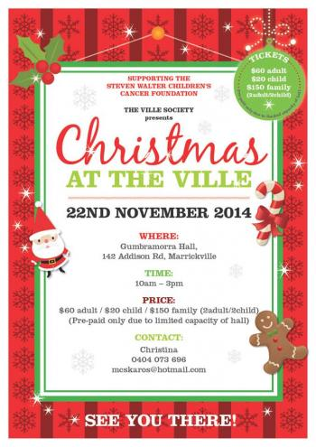 Christmas at the Ville - Marrackville NSW