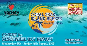 2015 XXXX Gold Coral Seas to Island Breeze Variety Bash - Cairns QLD