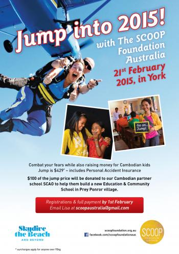Jump into 2015 - Charity Skydive