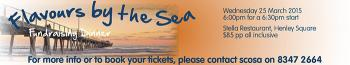 Flavours By the Sea Fundraising Dinner - Henley Square SA