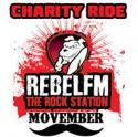 Rebel FM Motorcycle Charity Ride For Movember - Helensvale QLD