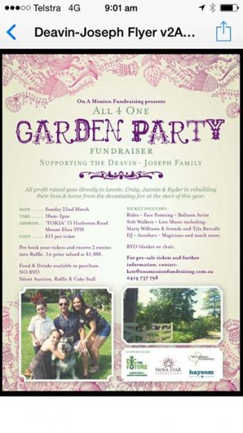 All 4 One Garden Party - Mount Eliza VIC