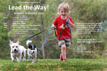 Lead The Way Fundraising Walk - for Victorian Dog Rescue
