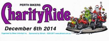 Perth Bikers Charity Ride 2014