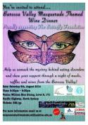 Masquerade Theme Barossa Valley Wine Dinner
