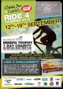 Ride for the Chopper 2014 - For Westpac Rescue Helicopter Service