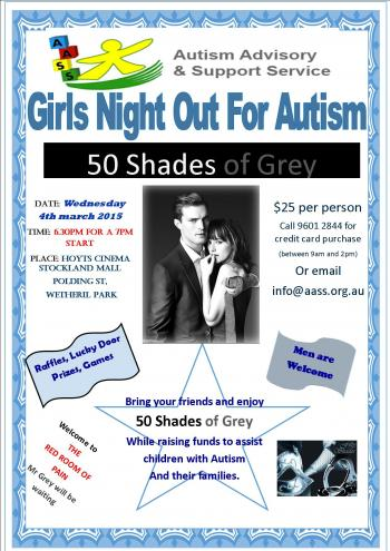 Girls Night Out for Autism