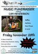 Music Fundraiser Featuring Cam Henderson - For Gaws & Awdri
