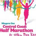 Central Coast Half Marathon And Ten Kilometre Fun Run