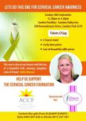 Lets do this one for Cervical Cancer