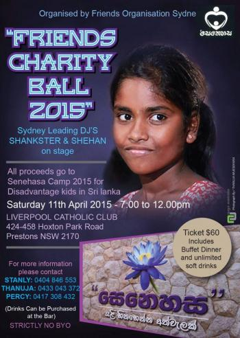 Friends Charity Ball 2015 - Prestons NSW