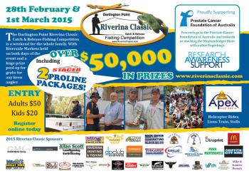 Riverina Classic Fishing Competition - Darlington Point NSW