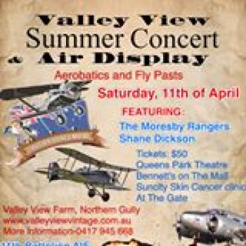 Valley View Air Display & Summer Concert - Geraldton WA