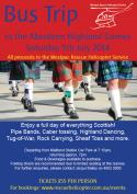 Aberdeen Highland Games Bus Trip - For Westpac Rescue Helicopter Service