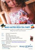 Make-A-Wish Mad Hatter High Tea Party