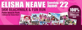 Elisha Neave 5KM Beachwalk and Fun Run - Palm Beach NSW