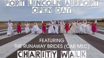 Port Lincoln Airport Open Day & Runaway Bride Charity Walk - Port Lincoln SA