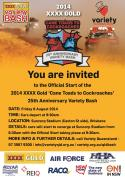 Start of the 2014 NSW and QLD Variety Bash