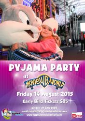 Pyjama Party at Movieworld!