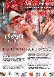 Sep 14 65 Roses Art Prize - Paint with a Purpose