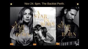 Perth Homeless Support Group Movie Fundraiser - A Star is Born