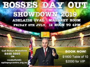 Bosses Day Out Showdown 2019