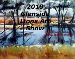2019 Glenside Lions Art Show - Opening Night