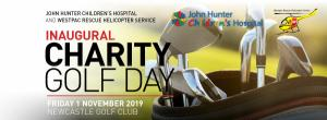 Nov 01 Charity Golf Day Supporting John Hunter Childrens Hospital & Westpac Rescue Helicopter Service