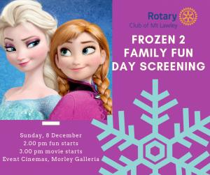 Rotary Family Fun Day Screening of Frozen 2