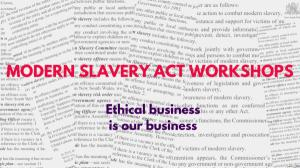 Feb 13 Ethical Business and Modern Slavery Act Workshop