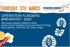 Mar 05 Operation Flinders Brekafast with Matthew Nicks & Stuart OGrady