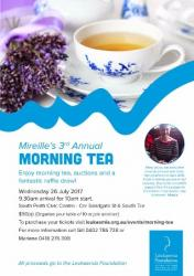 Mireilles Annual Morning Tea! Fundraiser for Leukaemia Foundation