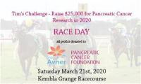 Tims Challenge  Raising Money for Pancreatic Cancer Research : Race Day