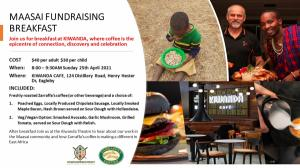 MAASAI FUNDRAISING BREAKFAST AT KIWANDA